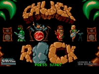 une photo d'écran de Chuck Rock sur Nintendo Super Nes