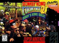 Photo de la boite de Donkey Kong Country 2