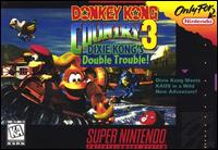 Photo de la boite de Donkey Kong Country 3