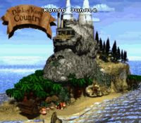 Donkey Kong Country, capture d'écran