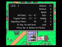 EarthBound sur Nintendo Super Nes