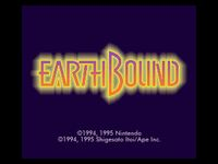 EarthBound, capture décran