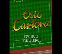 Eric Cantona Football Challenge, capture décran