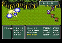 Final Fantasy 4 sur Nintendo Super Nes