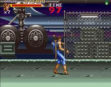 une photo d'écran de Final Fight 2 sur Nintendo Super Nes