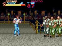 une photo d'écran de Final Fight sur Nintendo Super Nes