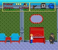 une photo d'�cran de Home Alone sur Nintendo Super Nes