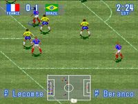International Superstar Soccer, capture décran
