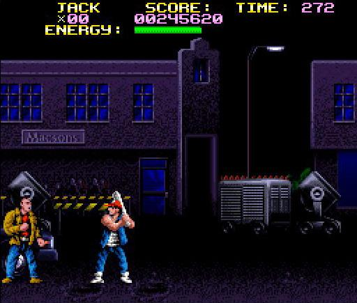 une photo d'écran de Last Action Hero sur Nintendo Super Nes