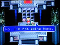 une photo d'écran de Lufia and the Fortress of Doom sur Nintendo Super Nes