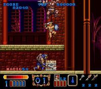 Magic Sword sur Nintendo Super Nes