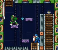 une photo d'écran de Mega Man 7 sur Nintendo Super Nes