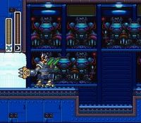 une photo d'écran de Mega Man X-2 sur Nintendo Super Nes