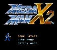 Mega Man X-2, capture d'écran