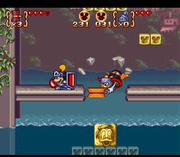 une photo d'écran de Mickey to Donald Magical Adventure 3 sur Nintendo Super Nes