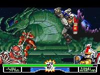 Mighty Morphin Power Rangers Fighting Edition sur Nintendo Super Nes