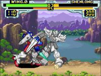 Mobile Suit Gundam Wing - Endless Duel, capture décran