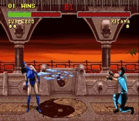 Mortal Kombat 2, capture d'écran