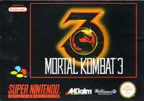 Photo de la boite de Mortal Kombat 3