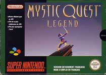 Photo de la boite de Mystic Quest Legend