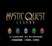 une photo d'écran de Mystic Quest Legend sur Nintendo Super Nes