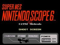 Nintendo Scope 6, capture décran
