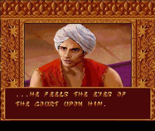 une photo d'écran de Prince of Persia 2 sur Nintendo Super Nes