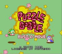 Puzzle Bobble - Bust a Move, capture d'écran