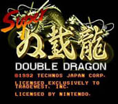 Return of Double Dragon, capture décran