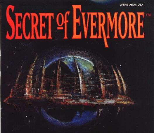 une photo d'écran de Secret of Evermore sur Nintendo Super Nes