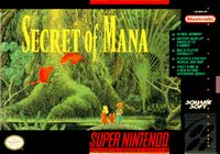 Photo de la boite de Secret of Mana