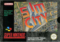 Photo de la boite de Sim City