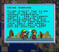 Sim City sur Nintendo Super Nes