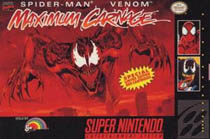 Photo de la boite de Spider-Man and Venom - Maximum Carnage