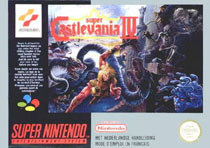 Photo de la boite de Super Castlevania 4