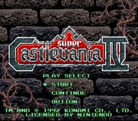 Super Castlevania 4, capture d'écran