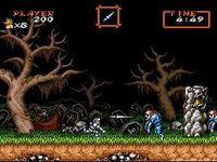 Super Ghouls n Ghosts, capture décran