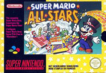 Photo de la boite de Super Mario All Stars