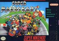 Photo de la boite de Super Mario Kart