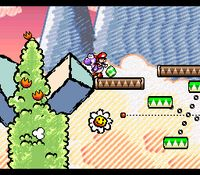 Super Mario World 2 - Yoshi s Island, capture décran