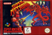 Photo de la boite de Super Metroid