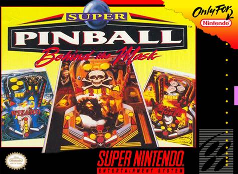 Photo de la boite de Super Pinball - Behind The Mask