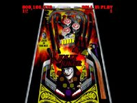 une photo d'écran de Super Pinball - Behind The Mask sur Nintendo Super Nes