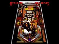 Super Pinball - Behind The Mask, capture d'écran