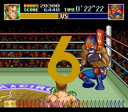 une photo d'écran de Super Punch Out sur Nintendo Super Nes