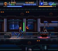 Super Star Wars - Return of the Jedi sur Nintendo Super Nes