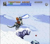Super Star Wars - The Empire Strikes Back, capture décran