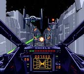 une photo d'écran de Super Star Wars sur Nintendo Super Nes