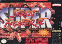 Photo de la boite de Super Street Fighter 2