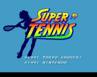 Super Tennis, capture décran